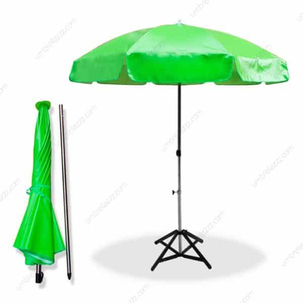 ร่มสนาม สีเขียว