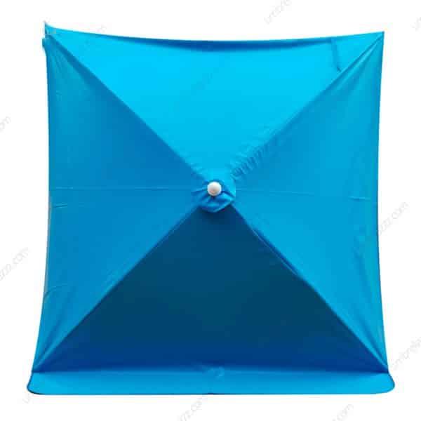 ร่มสนามสีฟ้า