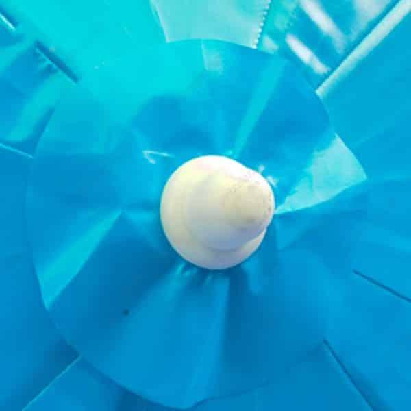 ร่มสนาม สีฟ้า