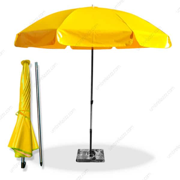 ร่มสนาม สีเหลือง