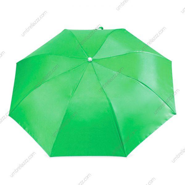 ร่มพับขายส่งสีเขียว