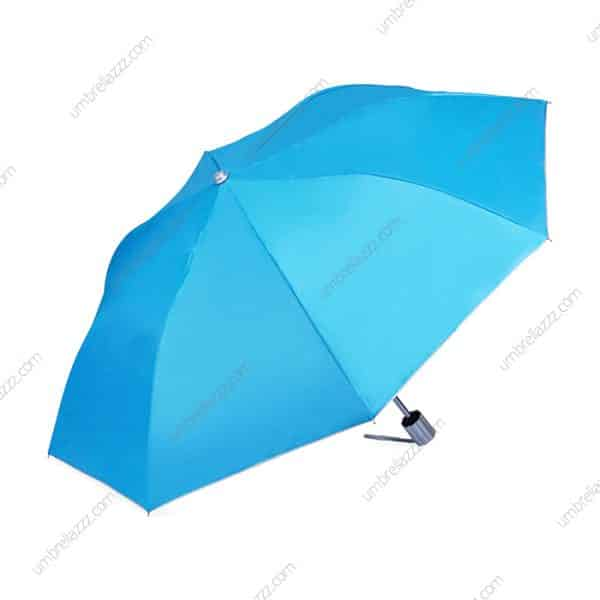 ร่มพับขายส่ง-สีฟ้า