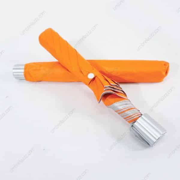 ร่มพับขายส่ง-สี้ส้ม