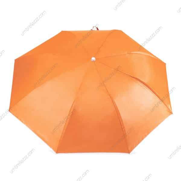 ร่มพับขายส่ง-สีส้ม